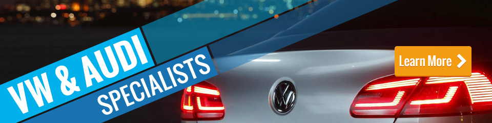 VW and Audi Repairs - Learn More